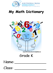 Grade K Mathematics Vocabulary Resources