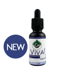 Foothills CBD | ViVA! 1:1 Tincture | All Organic | Δ8-THC