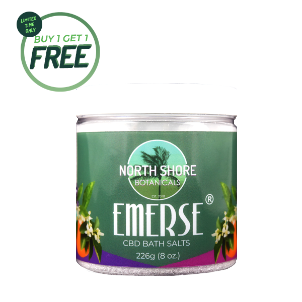 Foothills CBD | Emerse Citrus | CBD Bath Salts | BOGO | BFCM Deals