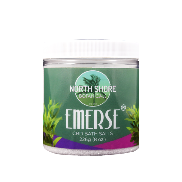 Foothills CBD | Emerse Eucalyptus | CBD Bath Salts | 8 oz.