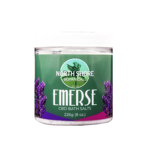 Foothills CBD | Emerse Lavender | CBD Bath Salts | 8 oz.