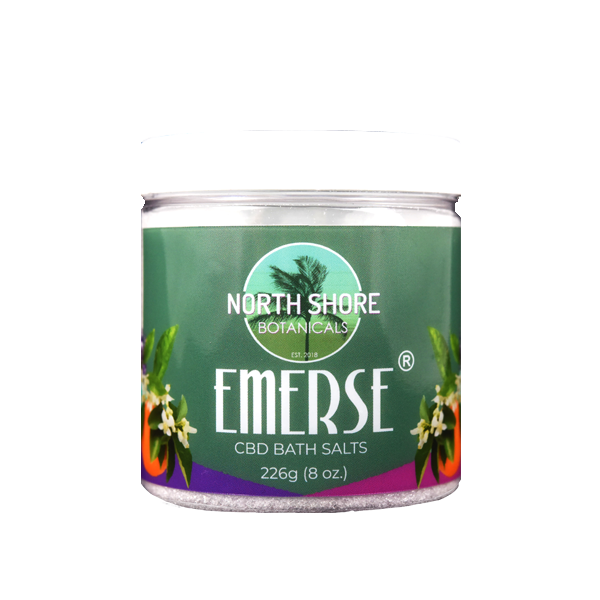 Foothills CBD | Emerse Citrus | CBD Bath Salts | 8 oz.