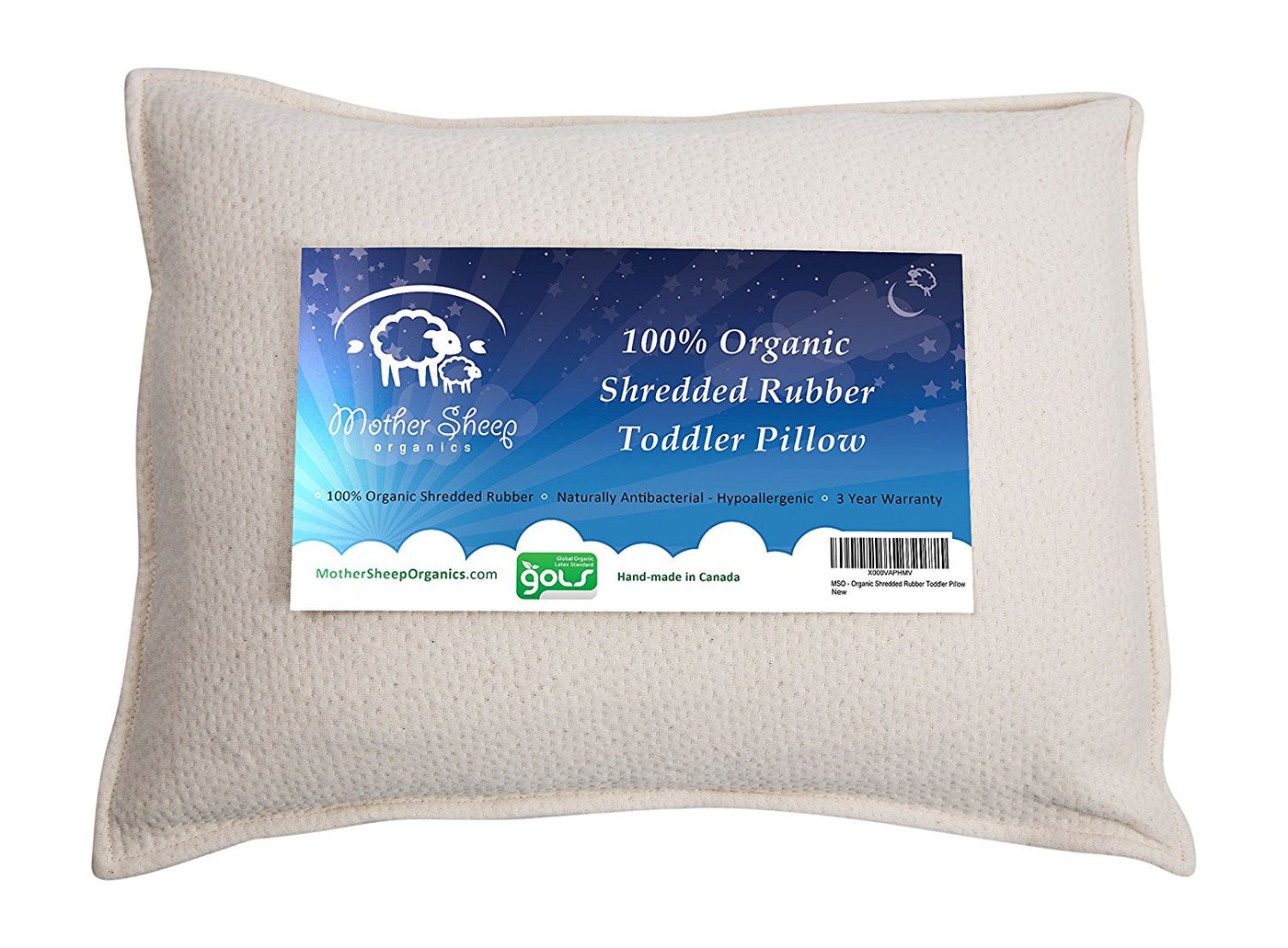 Toddler Pillow Shredded Rubber
