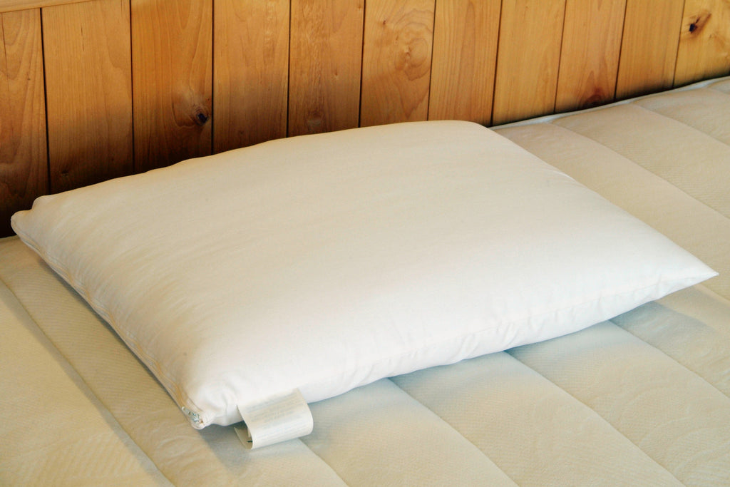 Bed Pillow- Wool Wrapped Latex