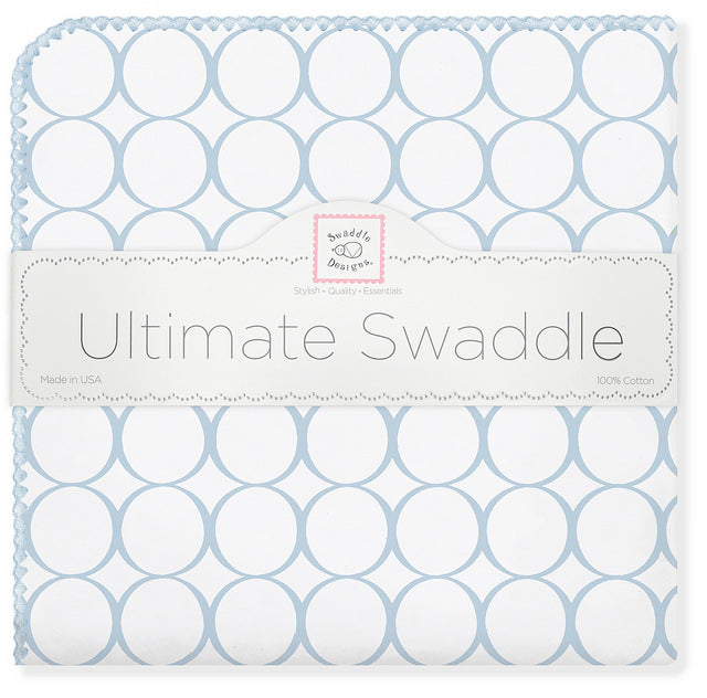 Organic Ultimate Swaddle  Mod Circle on Ivory