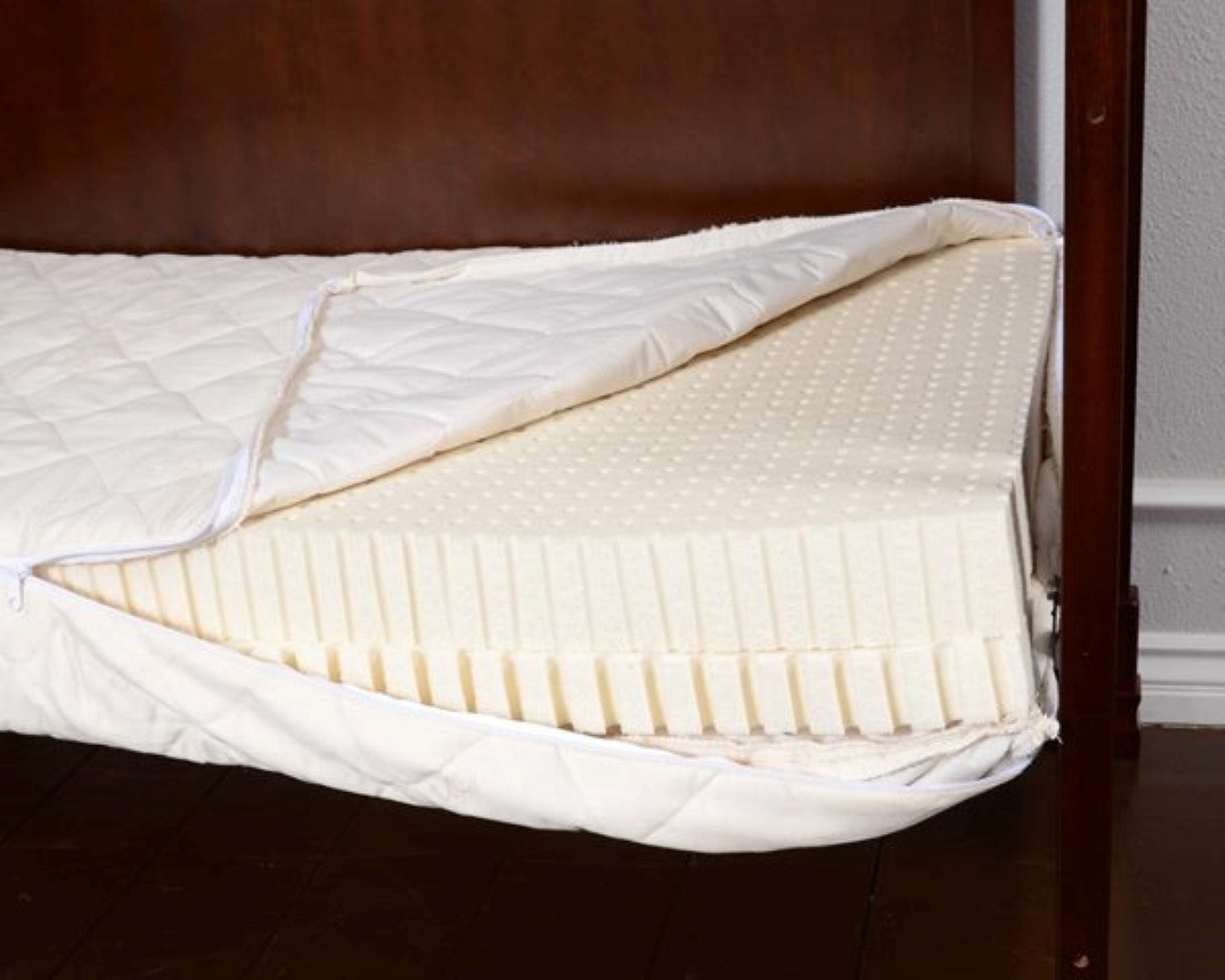 Natural Latex Crib and Toddler Mattress
