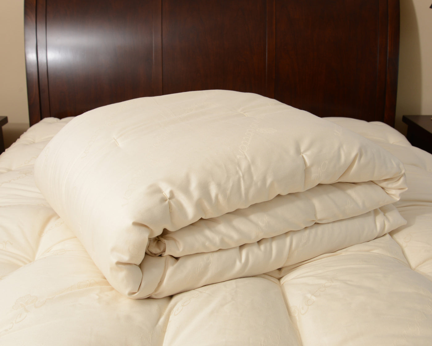 All Season Organic Wool Comforter