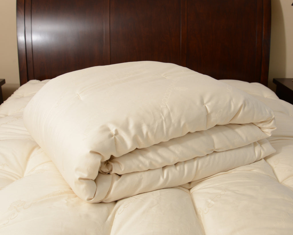 Winter Organic Wool Comforter