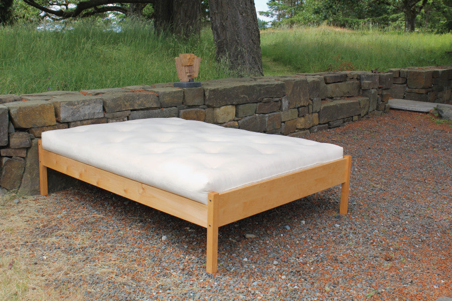 Organic Cotton Latex & Wool Futon