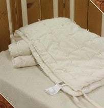 Organic Wool Summer Weight Hand Tied Comforter