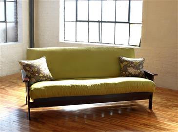 "FUTON/MATTRESS COVERS up to 6"" thick in 100% Cotton Twill Fabric - WLH A"