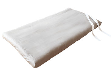 GREEN COTTON ROLL AWAY GUEST BED (STOWAWAY) with a 100% Cotton Twill Fabric Cover (WLH-A)