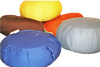 KAPOK filled ZAFU Meditation Pillow in 100% Cotton Twill Fabric