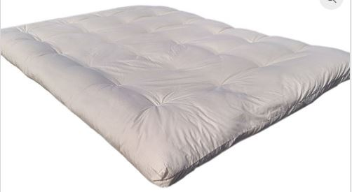 "3"" WOOL FILLED MATTRESS TOPPER"