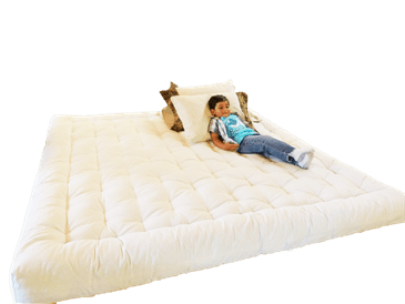 Organic Cotton Boulder Mattress without Fire Retardant