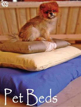 Natural Cotton Pet Bed with Cover