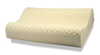 Natural Contour Rubber Pillow with Organic Cotton Cover