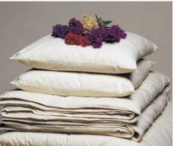 ORGANIC COTTON FILLED PILLOWS