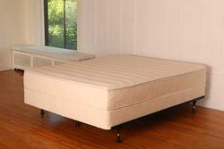Mattress Ten Inch Latex Knit Outer Queen