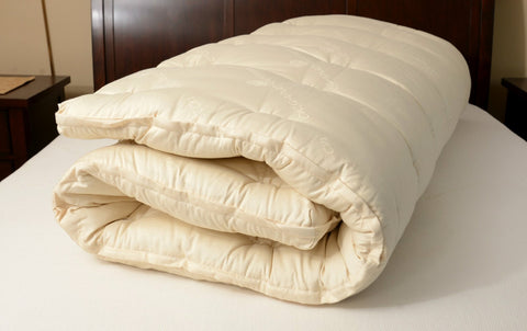 Organic Wool Mattress Topper