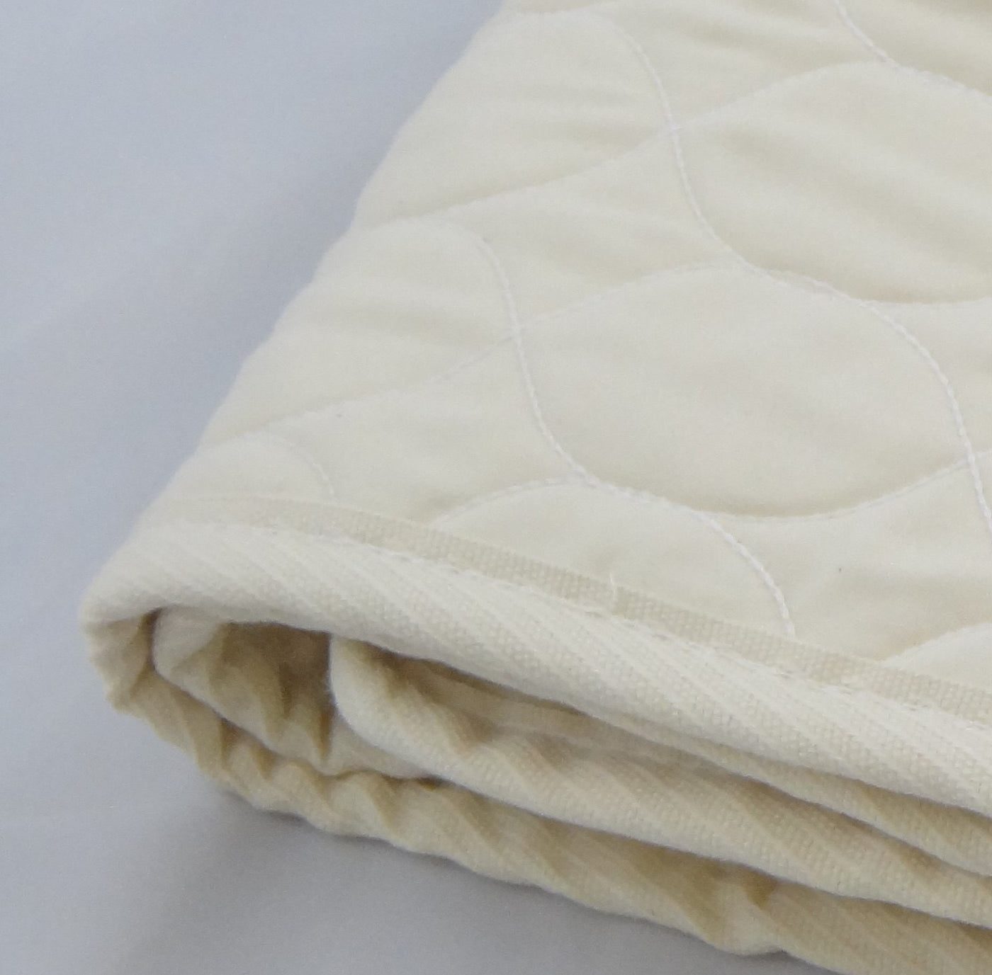 Deluxe Organic Cotton Quilted Pad