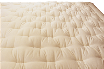 Green Cotton Boulder Mattress with Fire Retardant