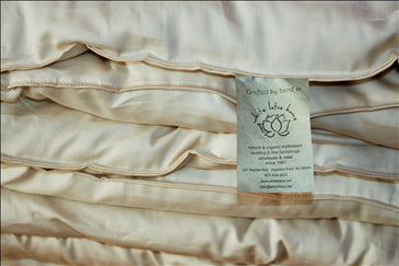 Green Cotton Duvet - Non Washable