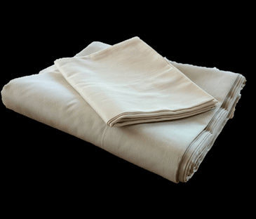 Massage Mat Covers in 100% Organic Cotton Sateen Fabric - WLH D