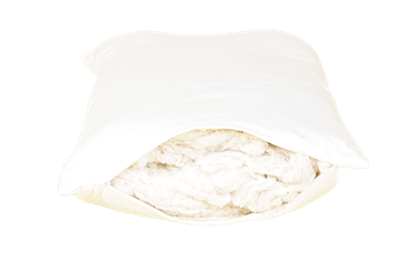 Organic Case Green Cotton Sleep Pillows