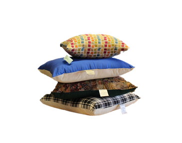 Organic Cotton Decorative Pillow Inserts  w/zip