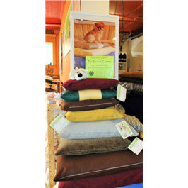 Organic Cotton Pet Bed with Organic Cover
