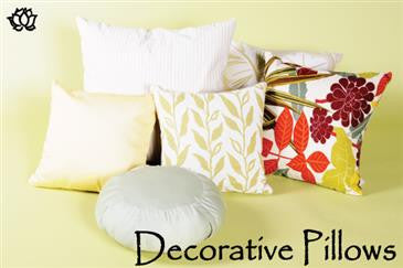 Pillow Covers - WLH A 100% Cotton Twill Fabric