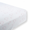 Flannel Fitted Crib Sheet Mama & Baby Chickies