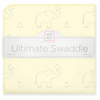 Ultimate Swaddle Sterling Deco Elephants