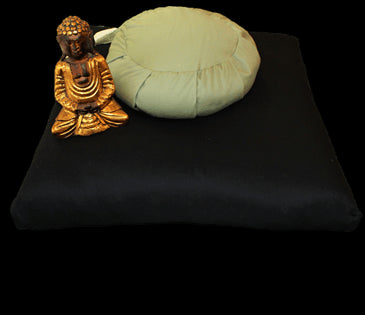 Zabuton Meditation Pillow Covers only in 100% Organic Cotton Sateen Fabric WLH D