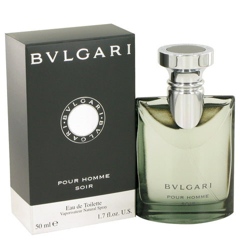 Bvlgari Soir by Bvlgari Eau de Toilette 1.7 Oz Spray For Men