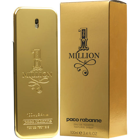 1 Million Cologne For Men by Paco Rabbane EDT 3.4 Oz Spray For Men