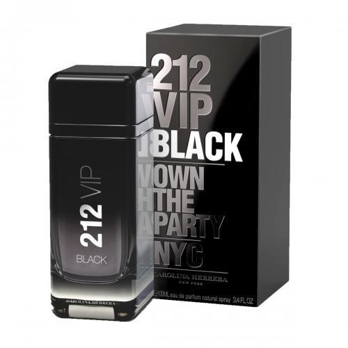 212 VIP Black Cologne by Carolina Herrera, Eau De Parfum 3.4 Oz spray For Men