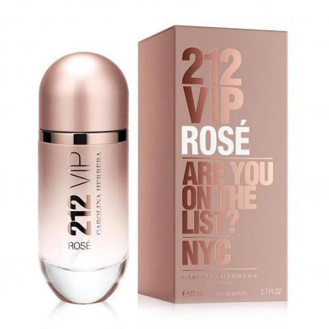 212 VIP Rose Perfume by Carolina Herrera, 2.7 oz EDP Spray for Women