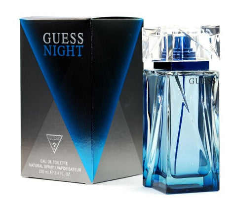 GUESS NIGHT EAU DE TOILETTE SPRAY FOR MEN, 3.4 OUNCE