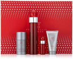 Perry Ellis 360 Red Cologne by Perry Ellis, 3.4 oz EDT Spray Gift Set For Men