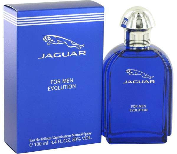 JAGUAR EVOLUTION EAU DE TOILETTE SPRAY FOR MEN, 3.4 OUNCE …