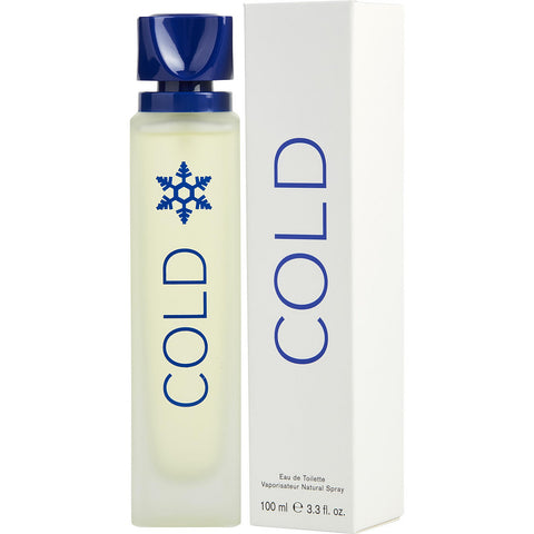 Cold by Benetton Eau De Toilette 3.3 Oz Spray For men