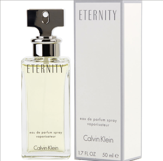 Calvin Klein Eternity Eau De Parfum Spray for Women 1.7 oz