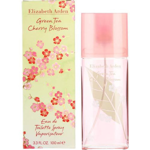 Green Tea Cherry Blossom Perfume by Elizabeth Arden 3.3 oz Eau De Toilette Spray for Women