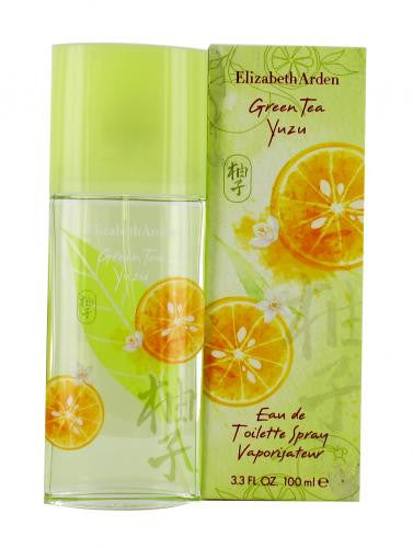 GREEN TEA YUZU PERFUME 3.3 OZ EDT Spray for Women BY ELIZABETH ARDEN