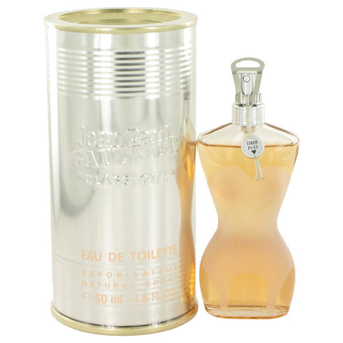 Classique by Jean Paul Gaultier Eau de Toilette 1.6 Oz Spray For Women