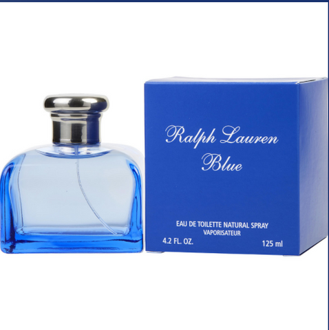Ralph Lauren Blue Women Eau De Toilette Spray 4.2 oz