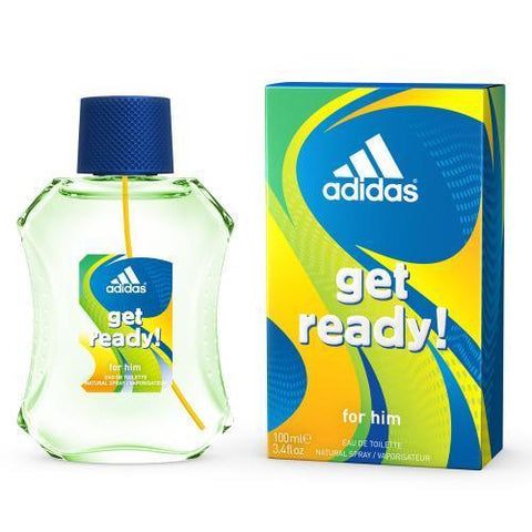 Adidas Get Ready by Adidas Eau de Toilette 3.4 Oz Spray For Men