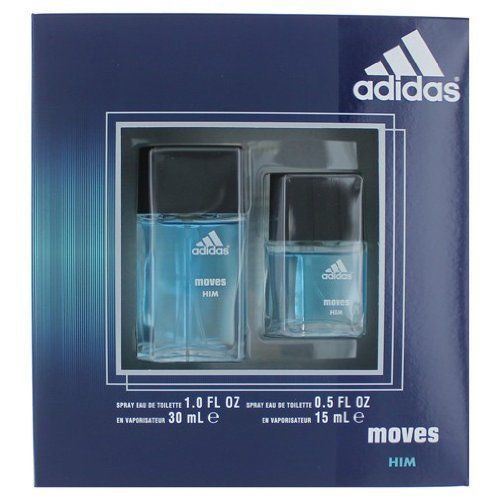 Adidas Moves Cologne by Adidas, 2 Piece Gift Set for Men
